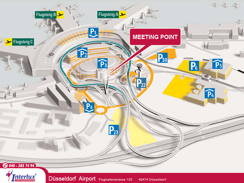 dusseldorf airport departure information